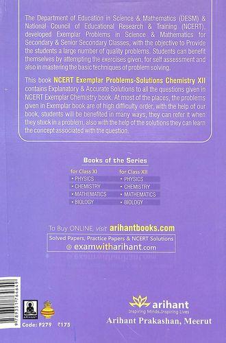 Buy Chemistry Class 12 Exemplar Problems Solutions : Cbse