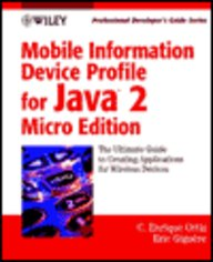 Buy Mobile Information Device Profile for Java 2 Micro