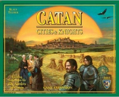 Mayfair Games 4102482 Catan Cities / Knights Expansion Board Game