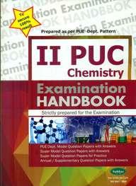 Chemistry 2 Puc Examination Handbook