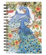 C.R. Gibson Peacock Pair Spiral Journal (GM93-5897)