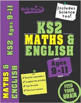 Gold Stars Bindup Workbook: Ks2 Maths, English, 9-11