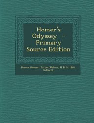 Homer's Odyssey  - Primary Source Edition