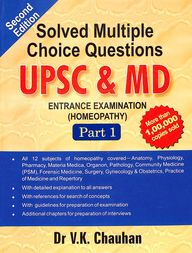 Solved Multiple Choice Questions Upsc & Md Entrance Examination Homeopathy Part 1