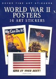 World War Ii Posters: 16 Art Stickers (Pocket-Size Sticker Collections)