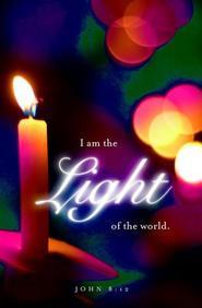 Light Christmas Candlelighting Bulletin 2012, Regular (Package of 50)