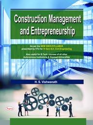 Buy Construction Management & Entrepreneurship For 6 Sem Be & B Tech