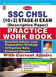 Ssc Chsl 10+2 Stage 2 Exam Descriptive Paper Practice Work Book With Current Affairs 10