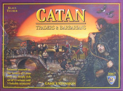 Mayfair Games Catan Barbarians And Traders Expansion