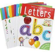 Wipe Clean Activity Learn To Write Letters Set Of 10 Books