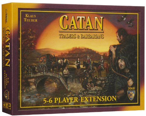 Catan Traders And Barbarians 5 - 6 Player Extension