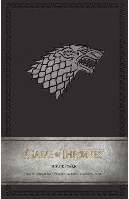 Game of Thrones: House Stark Hardcover Ruled Journal