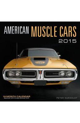 Buy American Muscle Cars Mini Calendar book : Peter Harholdt