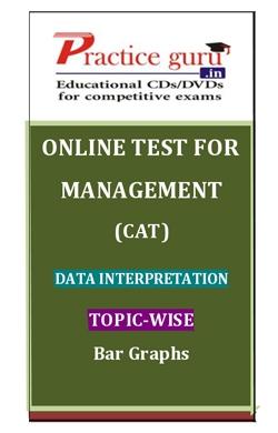 Online Test for Management: CAT: Data Interpretation: Topic-Wise: Bar Graphs