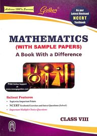 Gloden Mathematics Class 8 With Sampale Papers : Cbse
