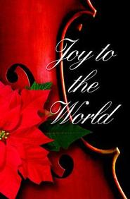 Joy To the World Christmas Music Bulletin 2012, Regular (Package of 50)