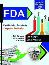Fda First Division Assistants Competitive Examination