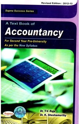 Textbook Of Accountancy 1 Puc