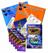 Easter Gift Package: (1) Xander Nash Book, (5) My Bible Cards packs, (2) Activity Books