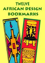 Twelve African Design Bookmarks (Small-Format Bookmarks)