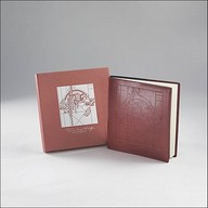Pomegranate Frank Lloyd Wright Leather Sketchbook
