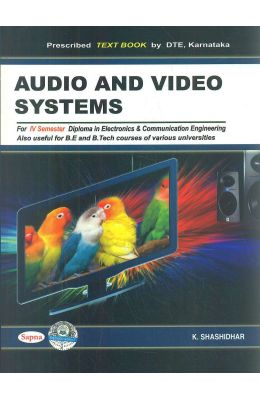 Audio & Video Systems For 4th Sem