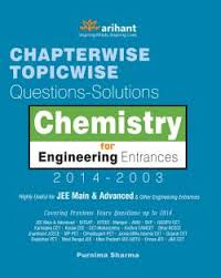 Chemistry For Engineering Entrance 2014-2003 Chapter Wise Topicwise Questions Solutions Jee