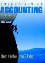 Essentials Of Accounting And Post Test Booklet 8