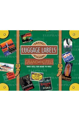 Grand Hotels Luggage Labels