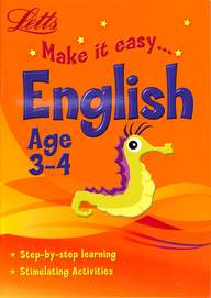 Letts Make It Easy  English  Age  3 - 4
