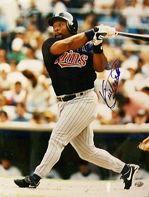 Kirby Puckett Autographed 11x14 Photograph