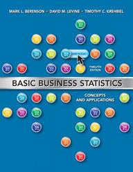 Basic Business Statistics with MyStatLab and Pearson eText (Access Card) (12th Edition)