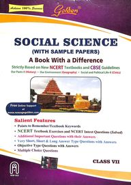 Golden Social Science Class 7 : Cce Cbse