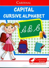 Cardinal Capital Cursive Alphabet