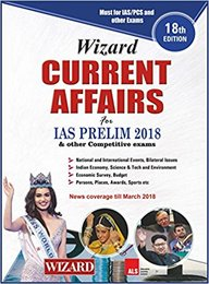 Buy Wizard Current Affairs For Ias Prelim 2018 & Other