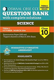 Science Class 10 Term 2 Question Bank Formative & Summative Assessment Mar 2016 Exams :