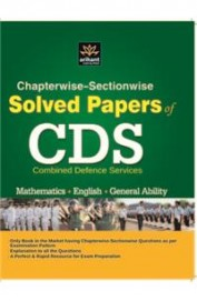 Chapterwise-Sectionwise Solved Paper of CDS Mathematics, English, General Ability