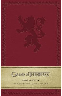 Game of Thrones: House Lannister Hardcover Ruled Journal