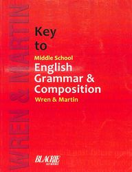 Wren n martin book of english grammar