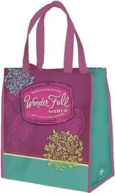 Wonder Full World Tote Bag