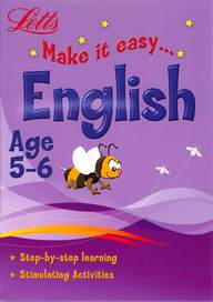 Letts Make It Easy English Age 5-6