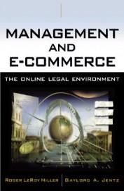 Management & E Commerce The Online Legal Environment