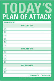 Knock Knock Todays Plan of Attack Great Big Sticky