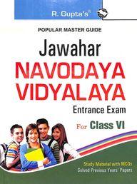 Popular Master Guide Jawahar Navodaya Vidyalaya Entrance Exam Class 6 : Code R-1001