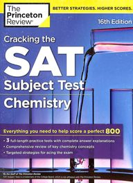 Cracking The Sat Subject Test In Chemistry : The Princeton Review