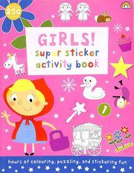 Girls Super Sticker Activity Book