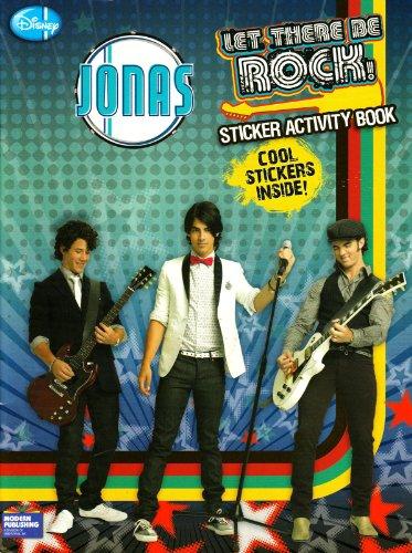Jonas Sticker Book 1: Jonas