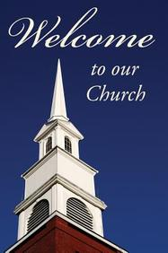 Welcome to Our Church (Redesign) : 25- Pack Tracts