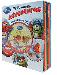 Disney My Favourite Adventures Set Of Books 5 + Cd