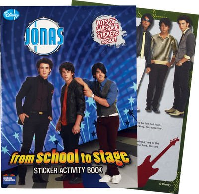 Jonas Sticker Book 2: Jonas